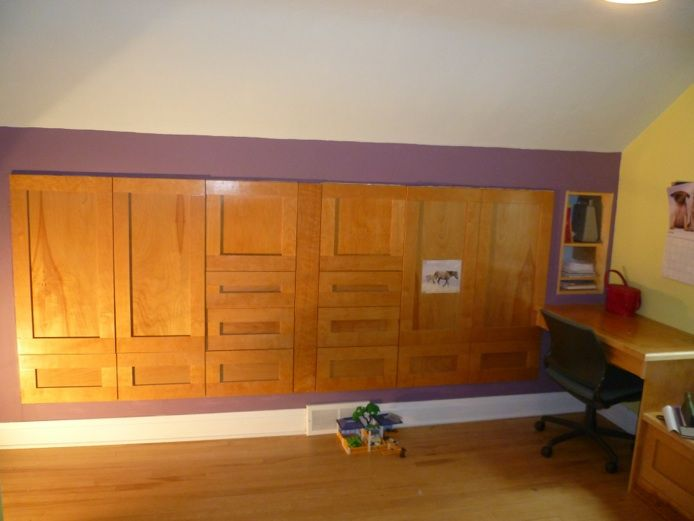 Knee Wall Cabinet | Cabinets Details Home Odd Spaces Rooms