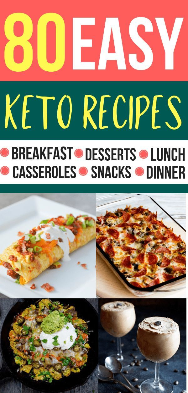 80 Easy Keto Recipes For Your Ketogenic Diet images