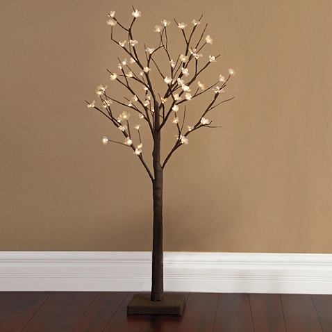 Plug In Led 4 Foot Lighted Cherry Blossom Tree Cherry Blossom Tree Tree Bed Led Tree