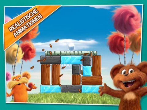 Der Lorax App Of The Day The Lorax Kids App