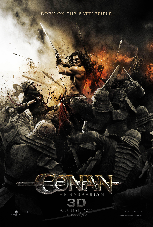 Conan O Barbaro 2011 Cartazes De Cinema Filmes Cinema