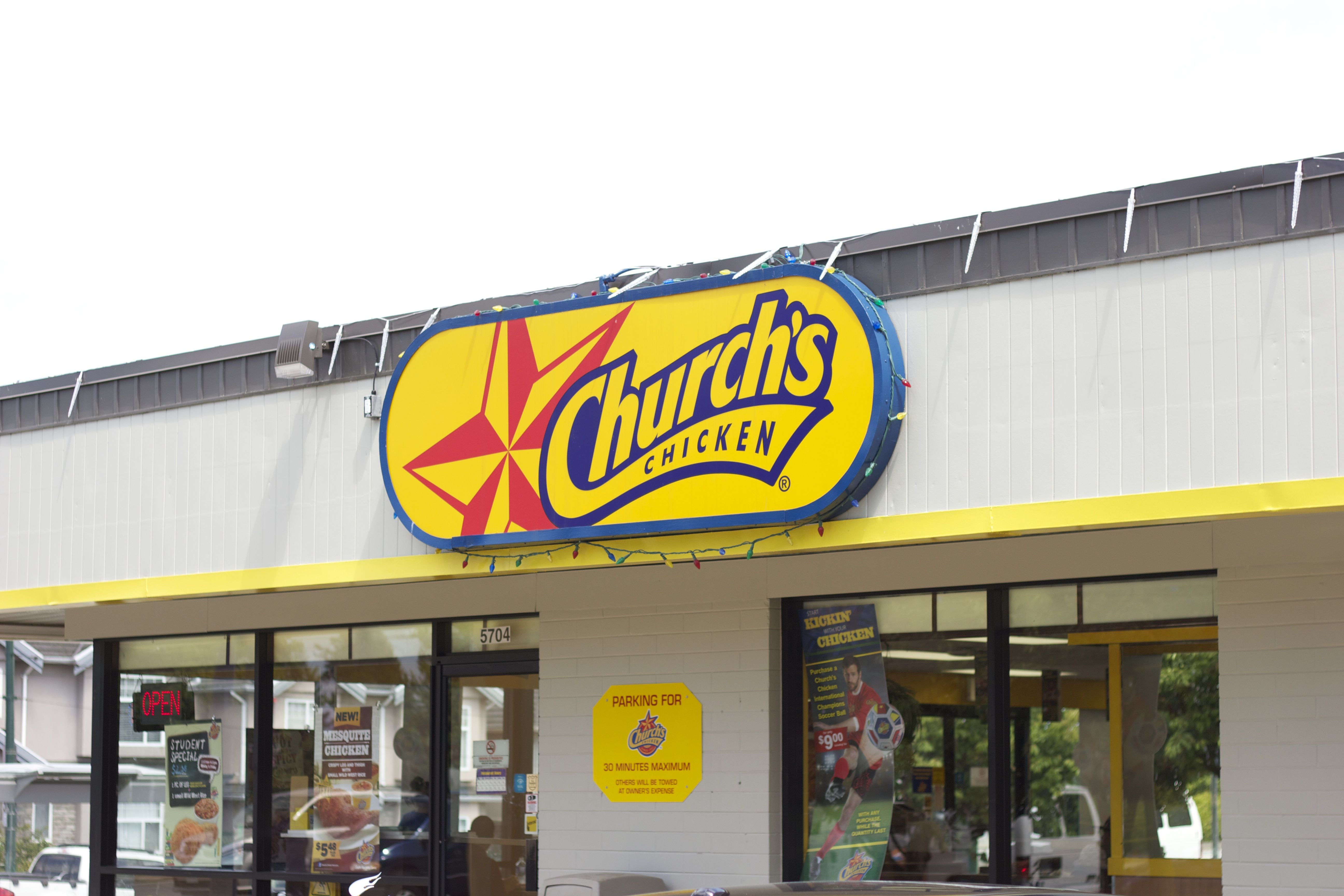 Churchs Chicken On Fraser St Between 41st 50th Ave Vancouver Bc Southhill Vancouver South Hills Fraser Vancouver