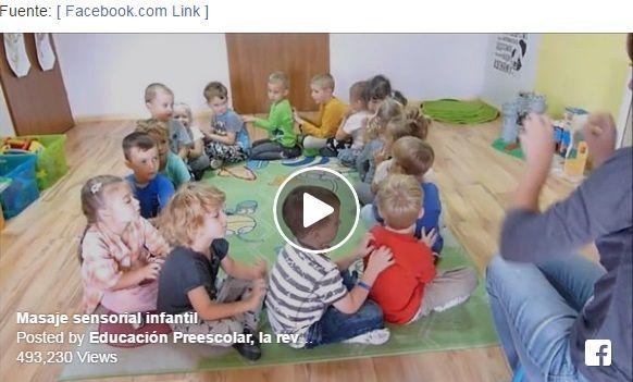 Preescolar Y Jardin De Infantes: Video: Masaje Sensorial Infantil. Preescolar Educacion