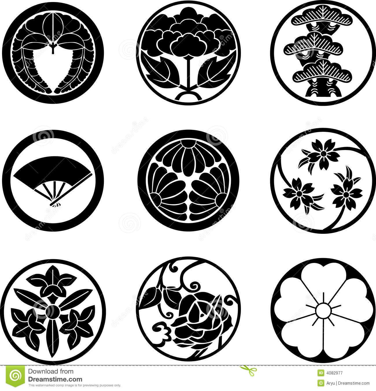 japanese-family-crests-4082977.jpg (1300×1353)