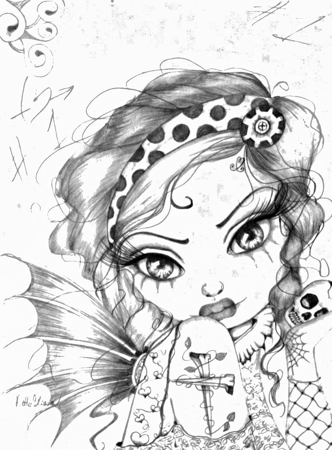 Pin by Yvonne39 on Pin pictures Big eyes art, Art, Drawings