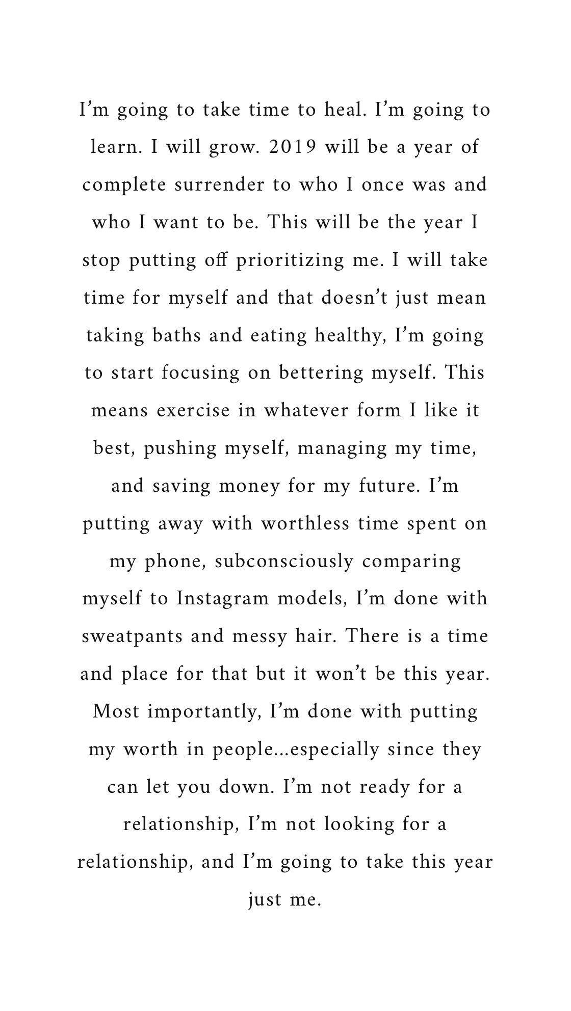 Voy A Tomar Tiempo Para Curarme Voy A Aprender Voy A Crecer 2019