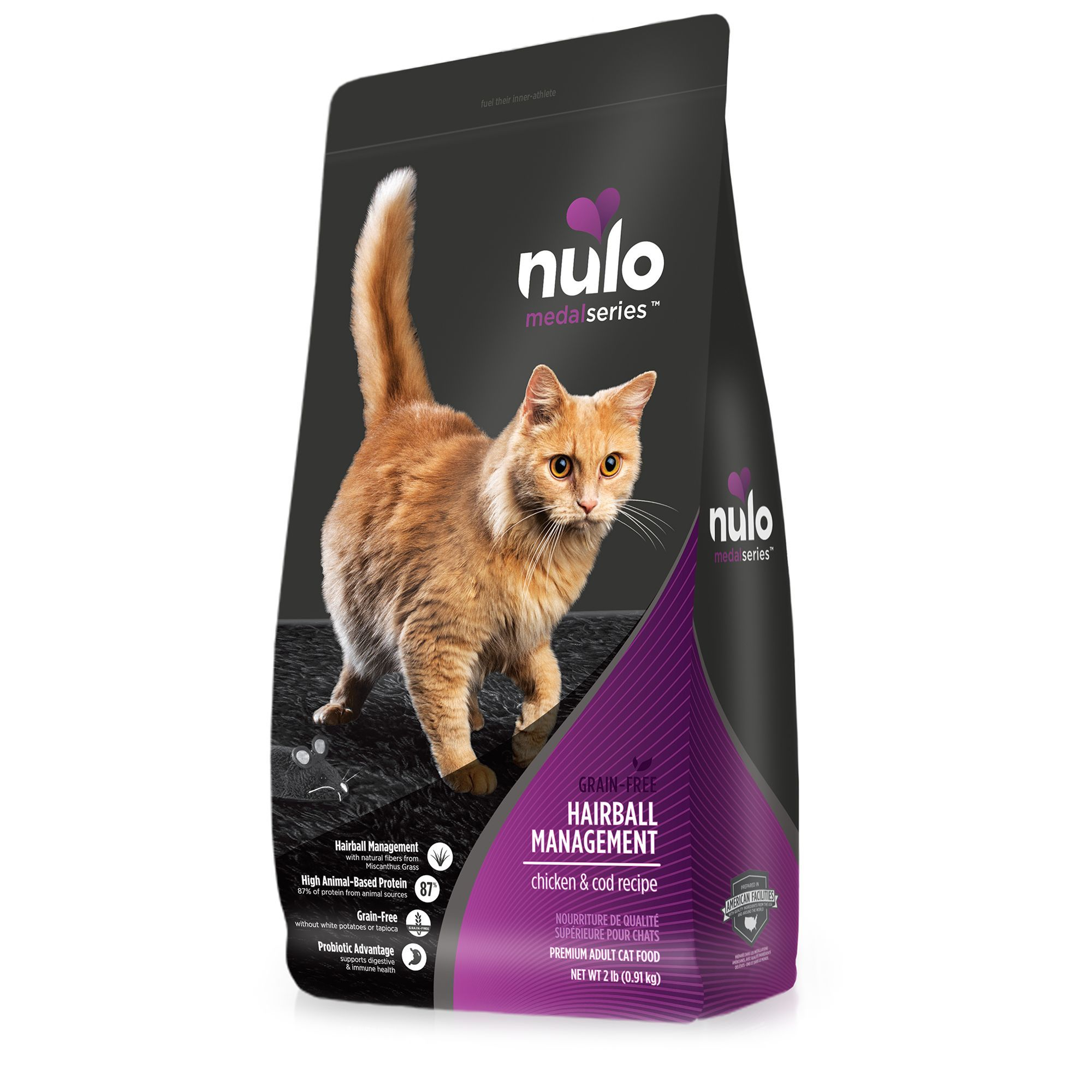Nulo Medalseries Hairball Management Cat Food Grain Free In 2020