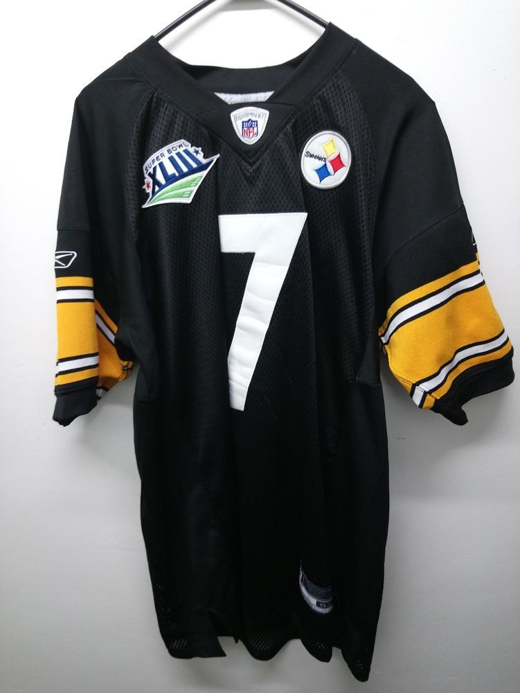 big sale 513de e4c4d Ben Roethlisberger Super Bowl XLIII Pittsburgh Steelers ...