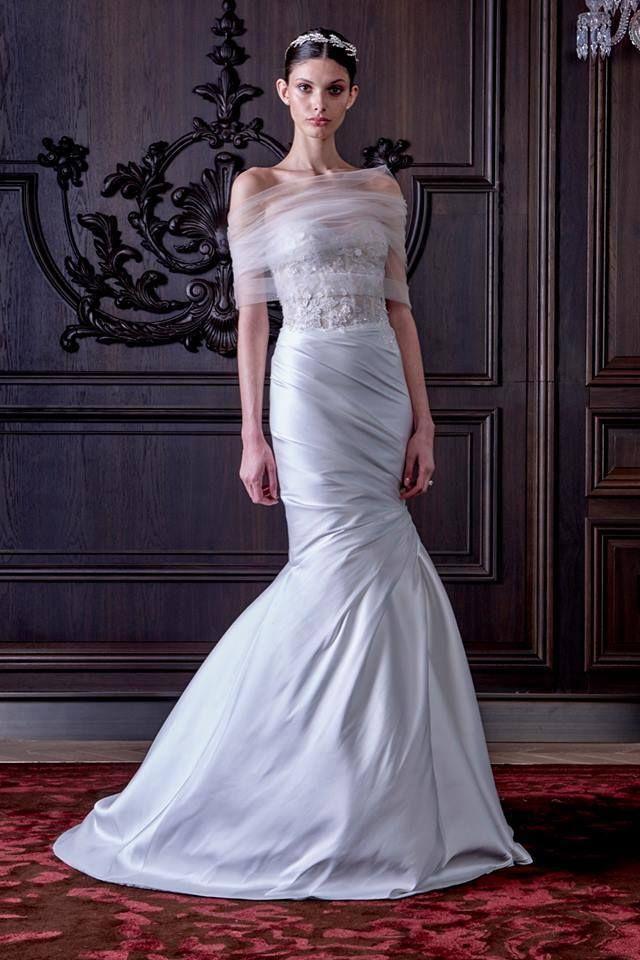 La colección detrajes de novia para la primavera del 2016 de Monique Lhuillier