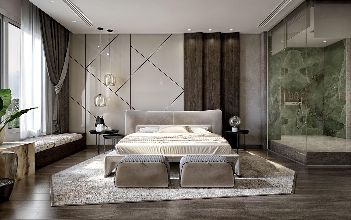 MASTER BEDROOM on Behance | Contemporary bedroom, Master ...