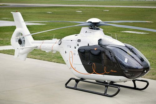 l'hélicoptère par hermès - luxury helicopter by hermès and eurocopter