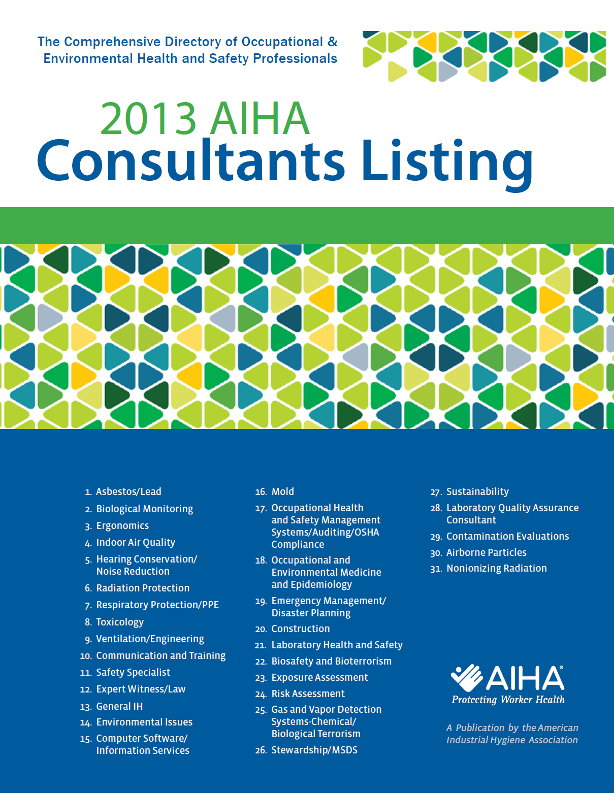 2013 Consultants Listing Certified Industrial Hygienist Pinterest