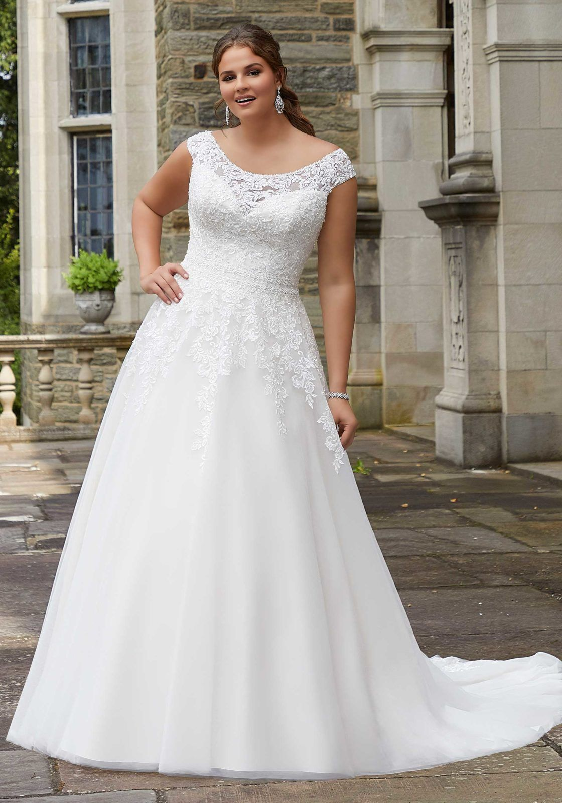 Susan Wedding Dress Morilee Plus size bridal dresses