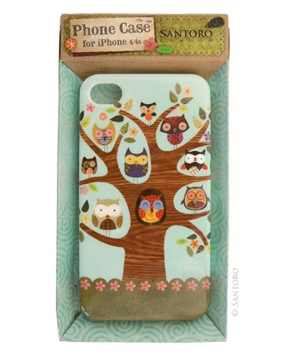 Cool owl phone cover...