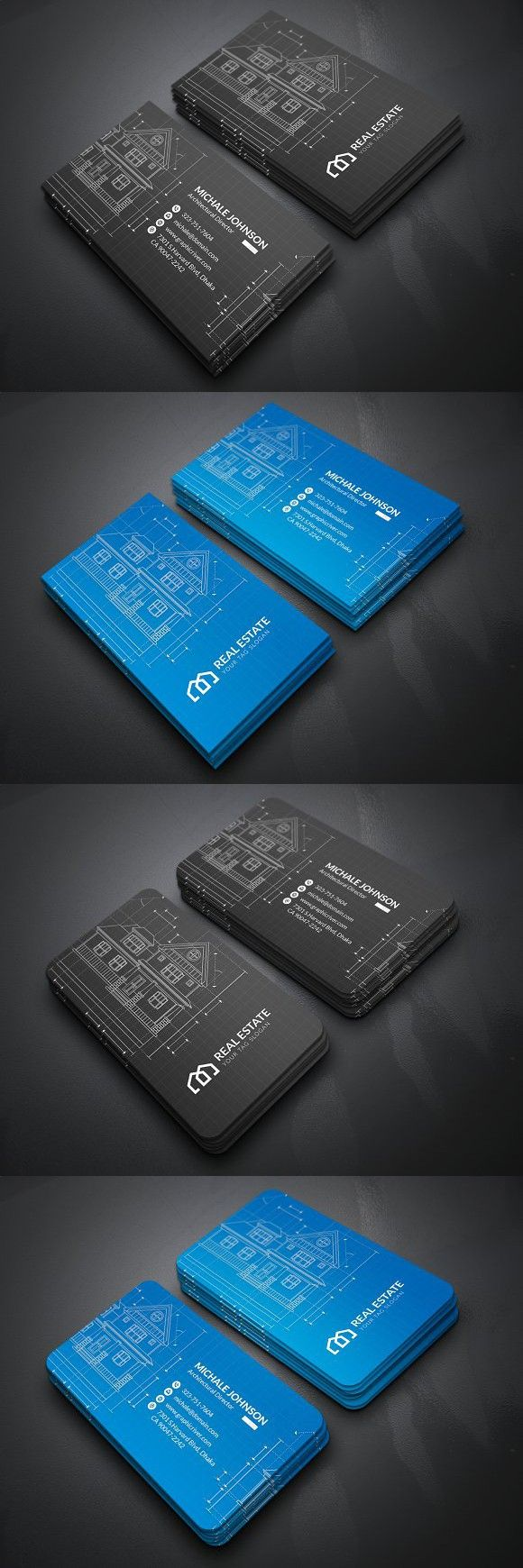 Architecture Business Card | Business Card Templates | Pinterest ...
