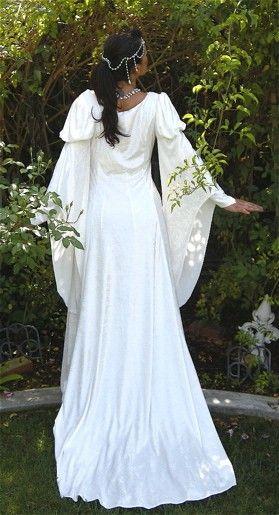 edba6c3efca Guinevere Velvet Medieval Gown by RomanticThreads on Etsy