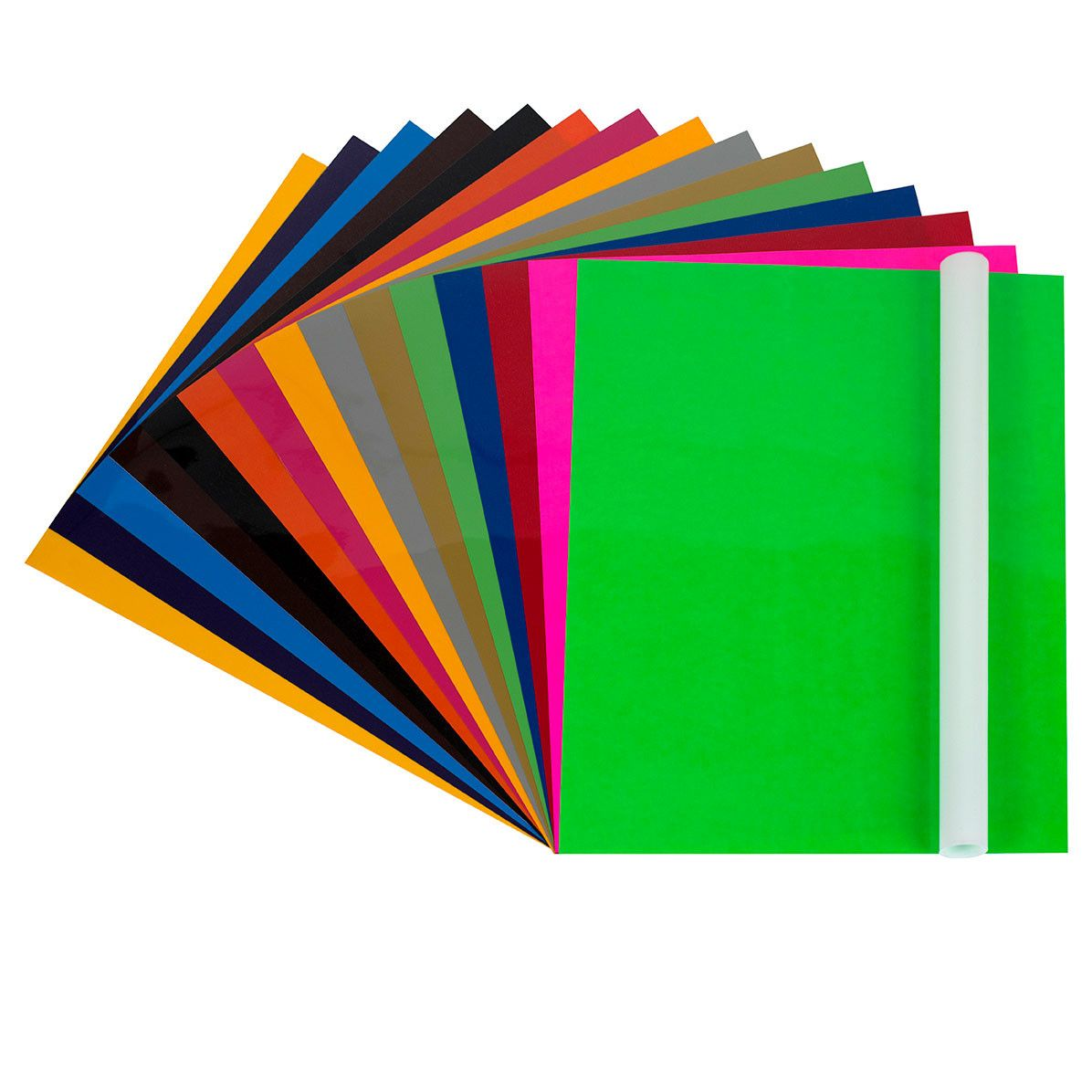 Vinyl sheets for crafts - Angel Crafts 12 X 10 Heat Transfer Vinyl Sheets 16 Pack With