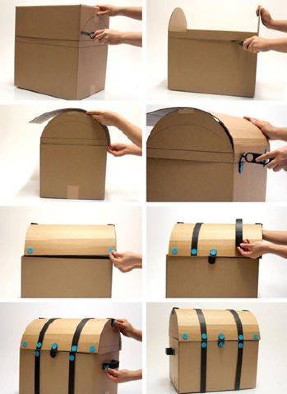 15 nouvelles idées de jouets pour enfants, à bricoler avec des boites de carton!