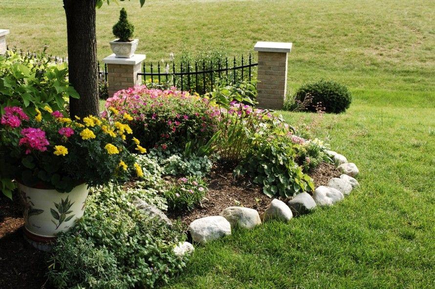 Rock Flower Bed Borders For Your Stunning Garden Trendy 400 x 300