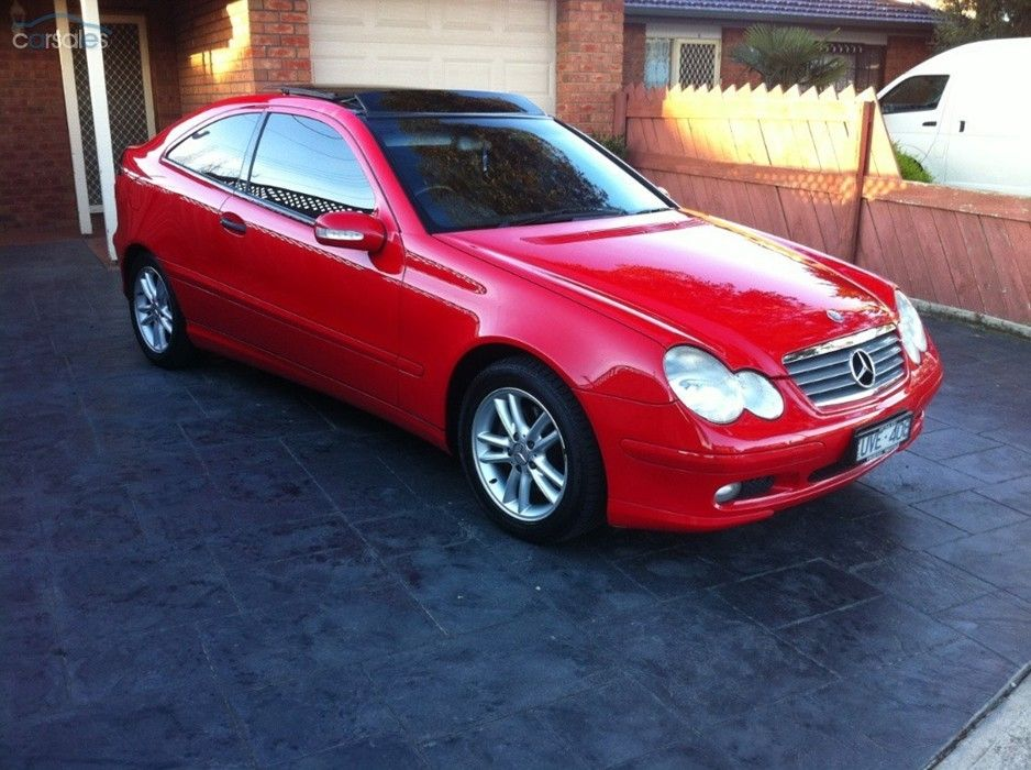 2002 MERCEDES C180 Kompressor CL203 MY2003 SPORTS EVOLUTION