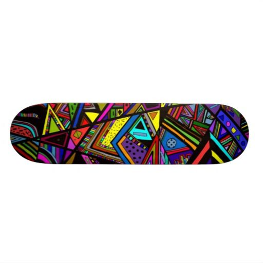 Cute Colorful Abstract Drawing Patterns Design Skateboard Design Abstract Drawings Pattern Design