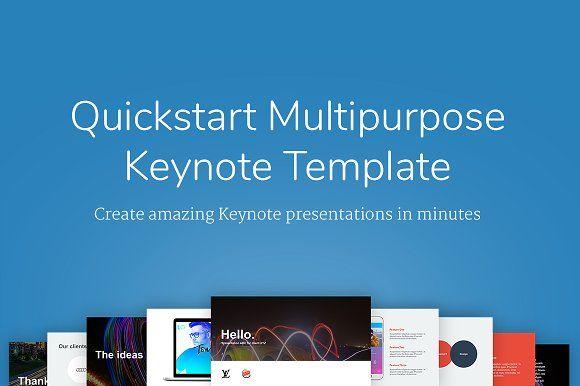 quickstart keynote template creativework247 presentation design