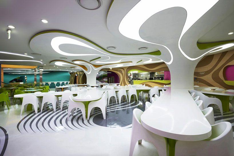 karim rashid: foodcapital food lounge, seoul, south korea
