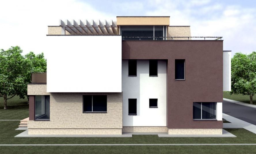 Modelos De Casas De Dos Pisos Moderna Por Dentro Y Por Fuera Planos De Casas Casa De Tres Pisos Casas