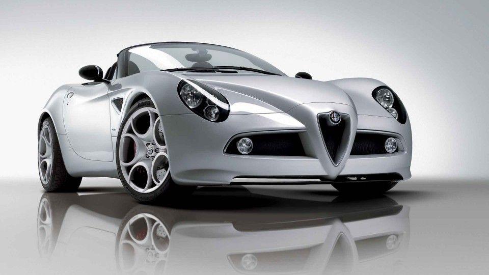 Driven Alfa 8C Spider Influx Magazine Sports car