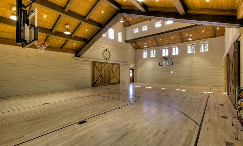 Residencial indoor basketball courts basketball court for Build indoor basketball court
