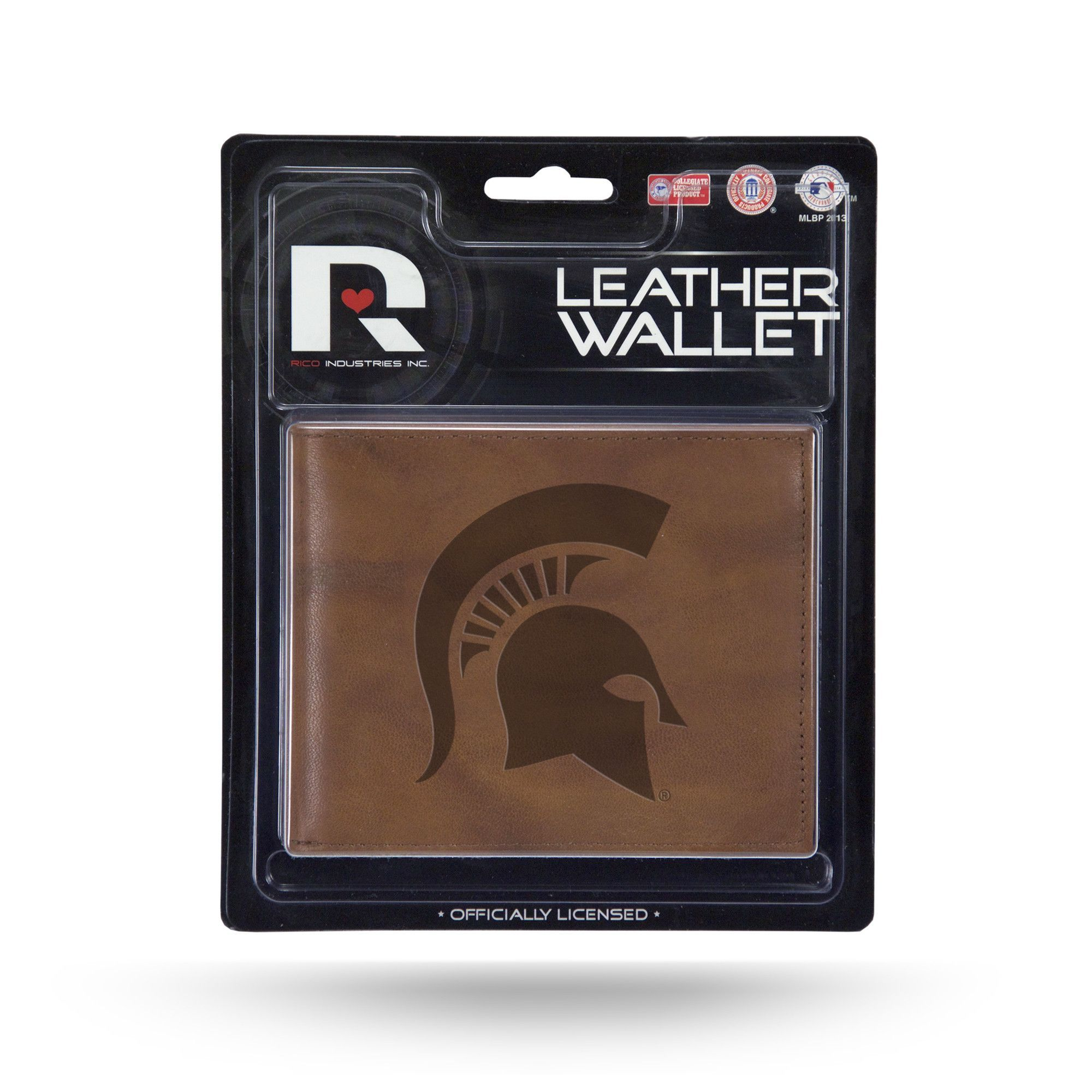 Michigan State Spartans Leather Embossed Billfold (backorder)