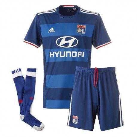 Camisetas del Olympique Lyonnais para Niños Away 2016 2017  d4ba04f29b9af