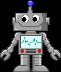 Robot Cartoon Clip Art Vector Clip Art Online Royalty Free