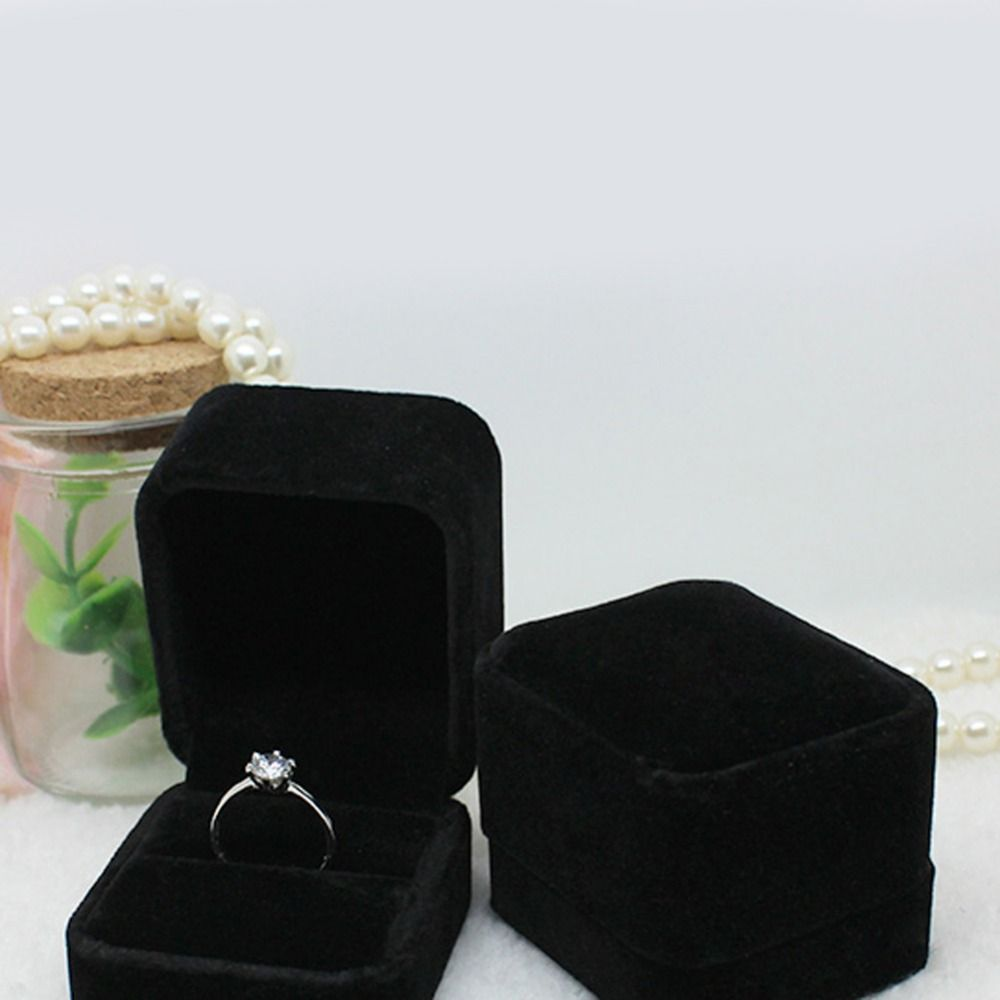 5 Styles New Design Jewelry Boxes Organizers Charming Velvet Ring