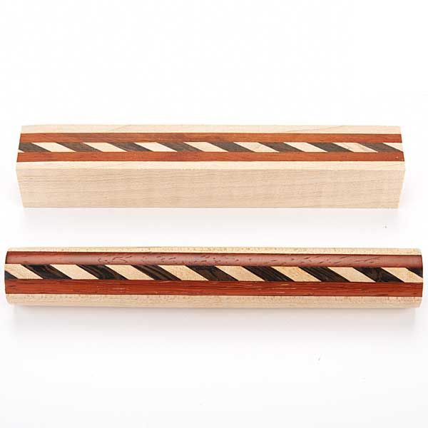 Laminated Wood Turning Blanks ~ Laminated wood pen blank turning pinterest