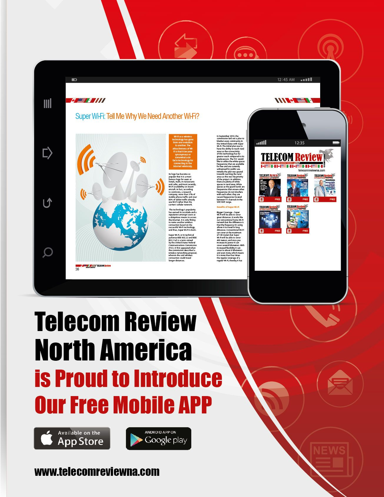 Review Mobile APPFree for Android and Apple