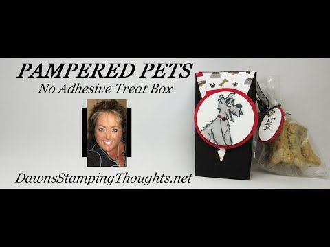 Photo of Two for Thursday ~  No Adhesive Treat Box videos