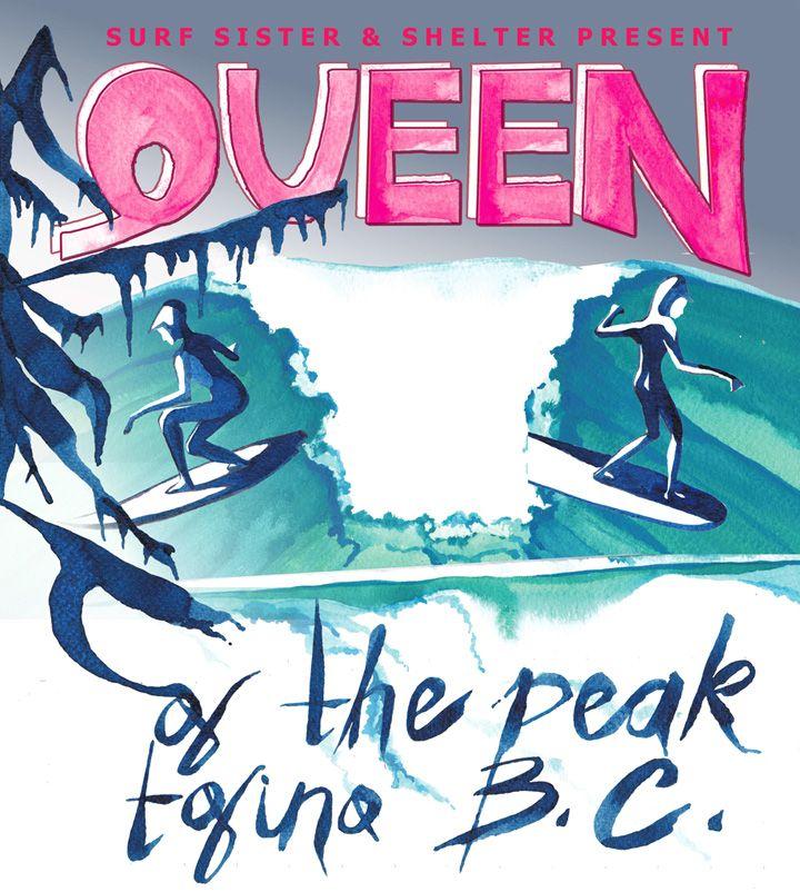 Women's Surf Comp in Tofino, BC