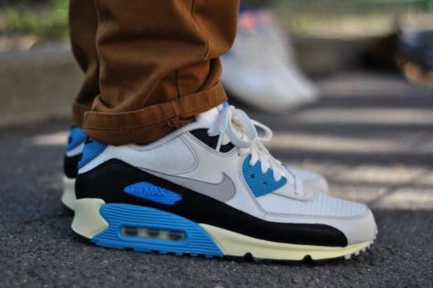"hot sales cebba 72033 Nike Air Max 90 Vintage OG ""Laser Blue"""