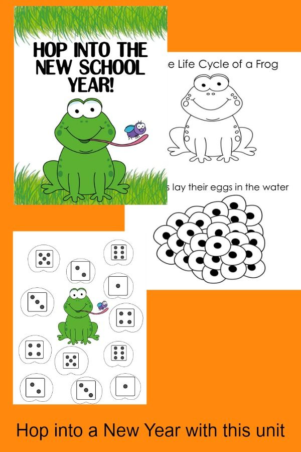 K 2nd grade frog workshop hop into a new year fandeluxe Choice Image