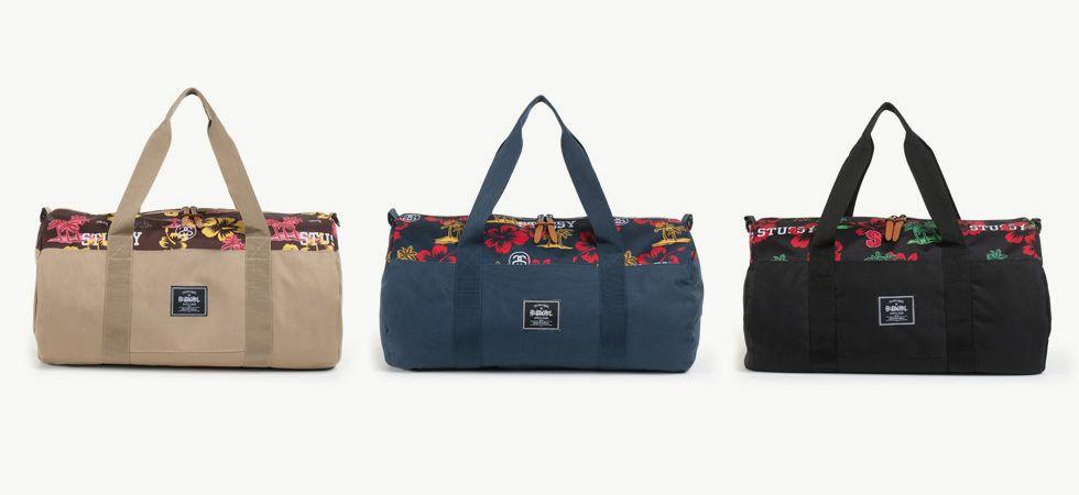 Stussy & Herschel Supply Co. Present: The Aloha Collection   #stussy #herschelsupplyco #duffelbags