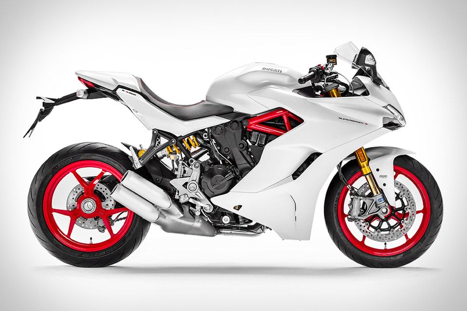 Mixing superbike styling with a road friendly design the Ducati