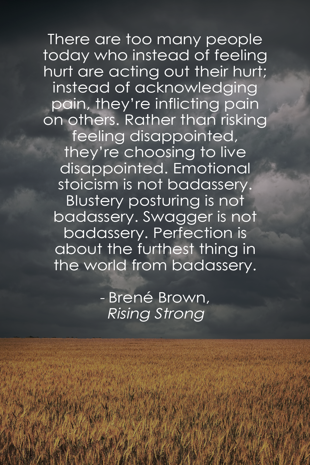 Rising Strong by Brené Brown Inspirational Quotes