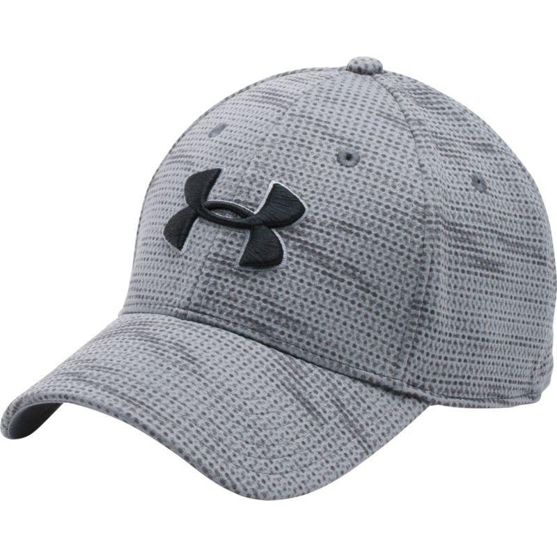 e3b8de1e34f Under Armour Men s Printed Blitzing Stretch Fit Hat