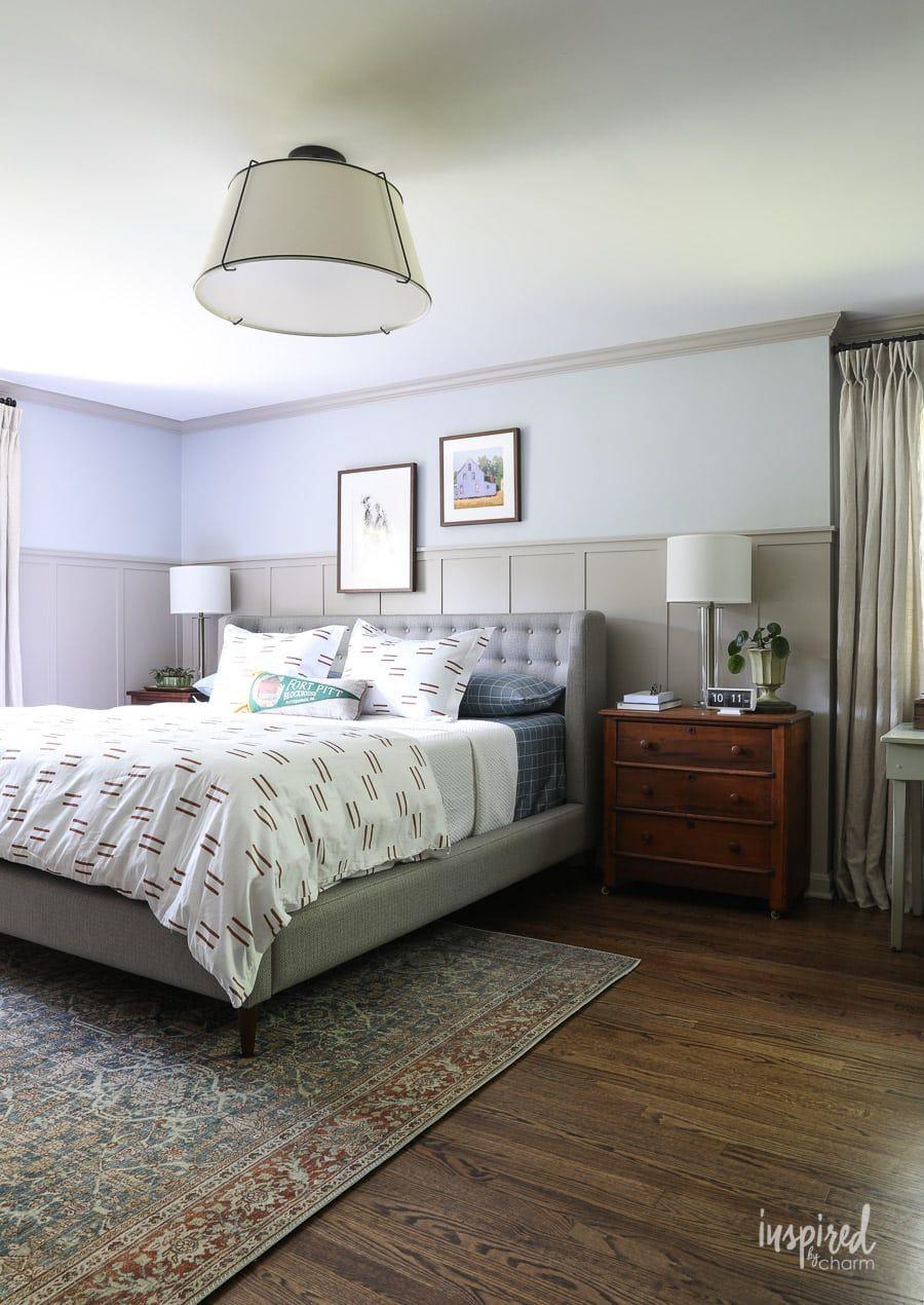 Master Bedroom Makeover Reveal Decorating Ideas Country Master Bedroom Master Bedroom Makeo In 2020 Apartment Bedroom Design Master Bedroom Makeover Bedroom Makeover