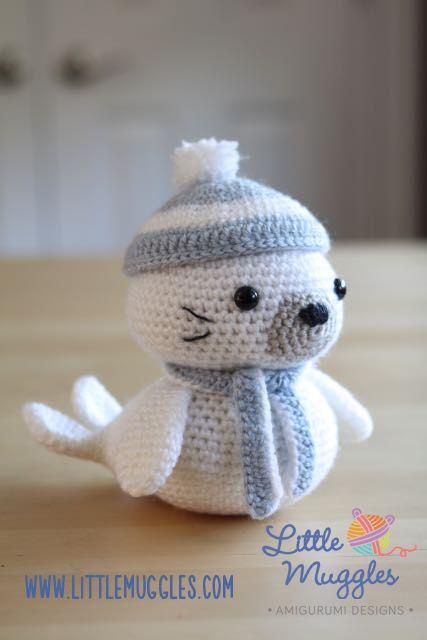 Häkelblog Verzeichnis : Sammy die Seerobbe | Häkeltiere | Pinterest ...