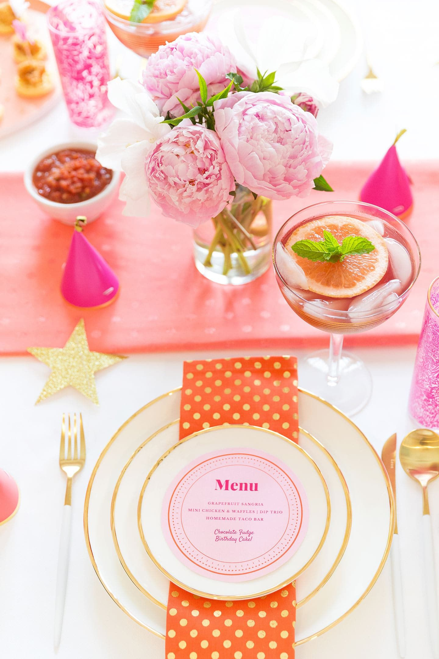 Birthday party ideas tablescape tips adult birthday