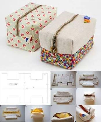 Resultado de imagen para moldes para hacer cartucheras de tela ...
