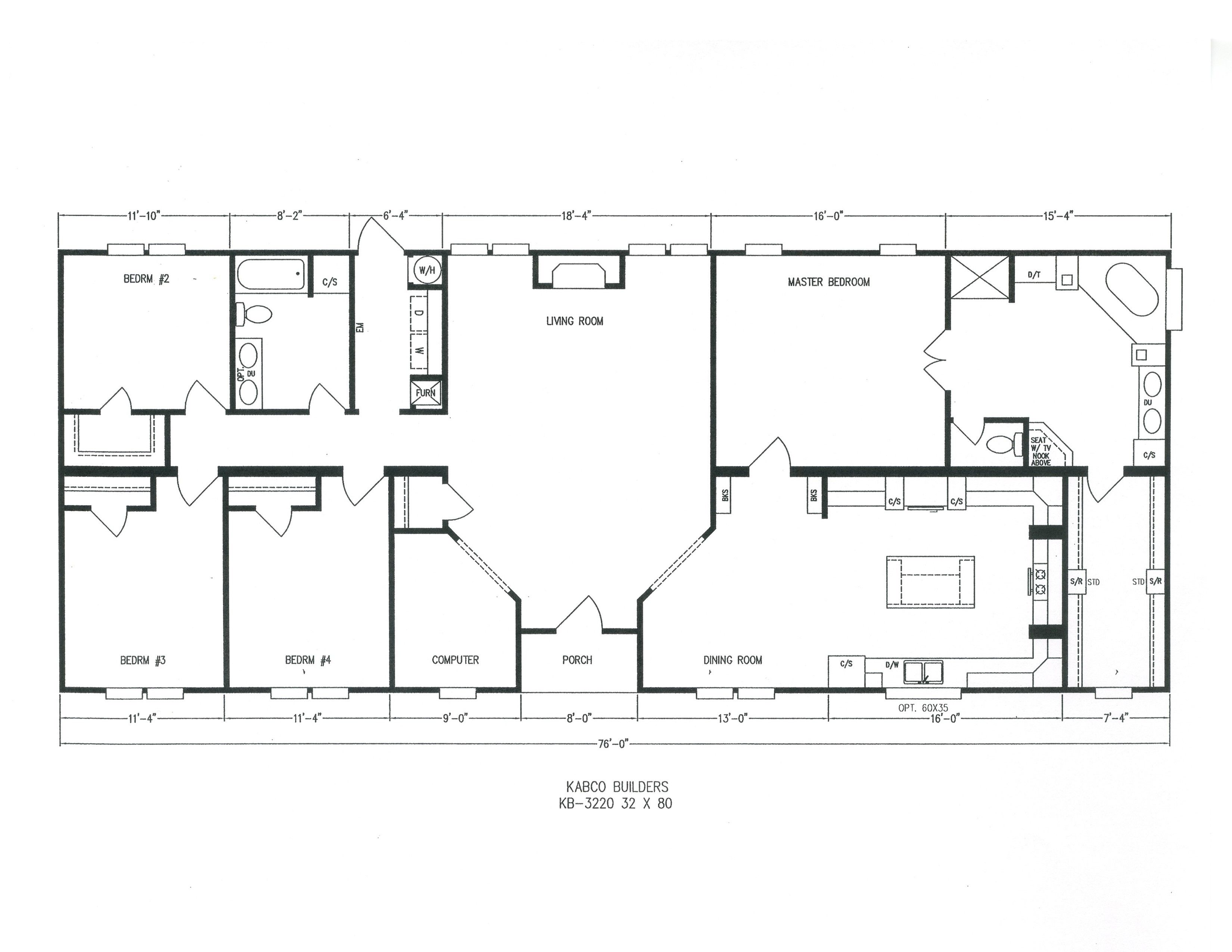 Kabco builders homes pinterest story house house for 6 bedroom double wide