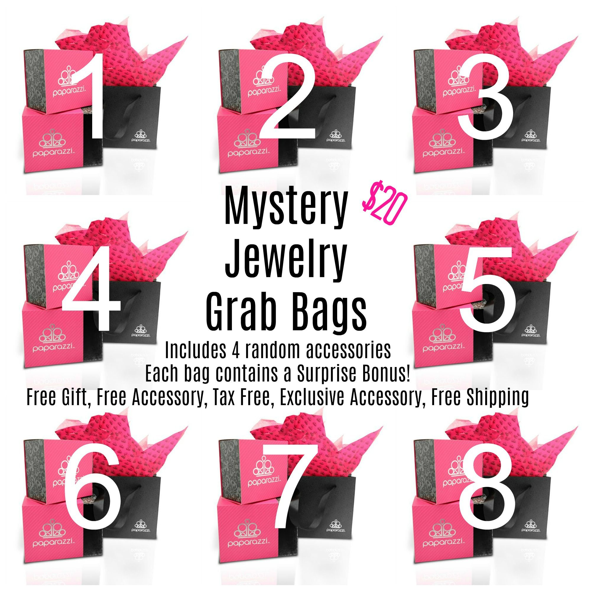 Mystery Grab Bags Paparazzi Jewelry